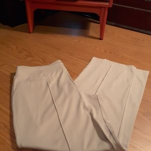 Cato size XL beige flat front casual pant